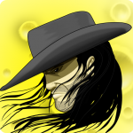 Jebidiah Moses posing for ZombieWords iTunes Icon
